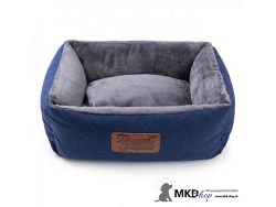 Hundebett Night blau/grau