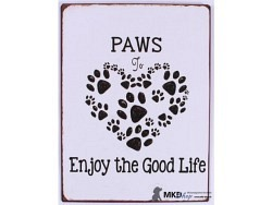 Paws to enjoy the good life