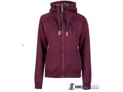 DOGGER Winter-Hoody violett