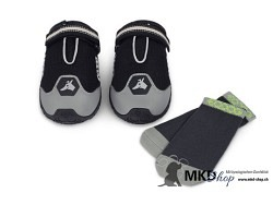 4 Season Shoes Black/Grey inkl. Socks